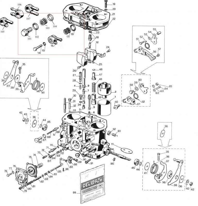 carburador dellorto (alfa)   Portal dos Classicos