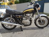 Yamaha XS 650 de 1978 pure fun!